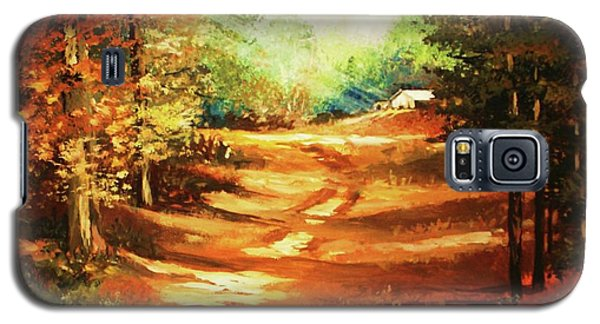 Glory Road In Autumn Galaxy S5 Case