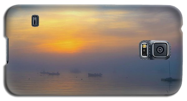 Gloucester Harbor Foggy Sunset Galaxy S5 Case