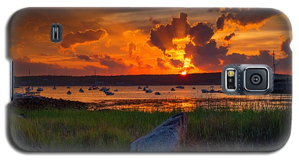 Gloucester Harbor Sunset Galaxy S5 Case