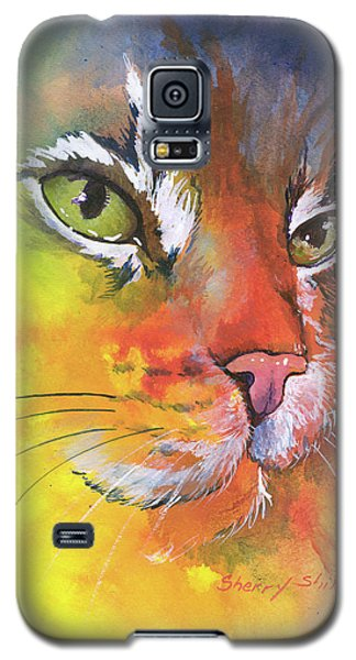Glow Cat Galaxy S5 Case