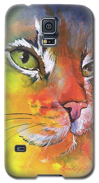 Glow Cat Galaxy S5 Case
