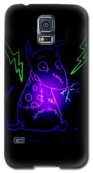Glow Frankenweenie Sparky Galaxy S5 Case