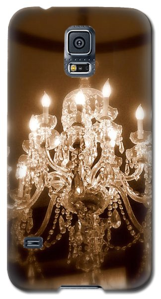 Glow From The Past Galaxy S5 Case by Karen Wiles