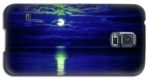 Glow In The Dark Amazing Sunset  Galaxy S5 Case