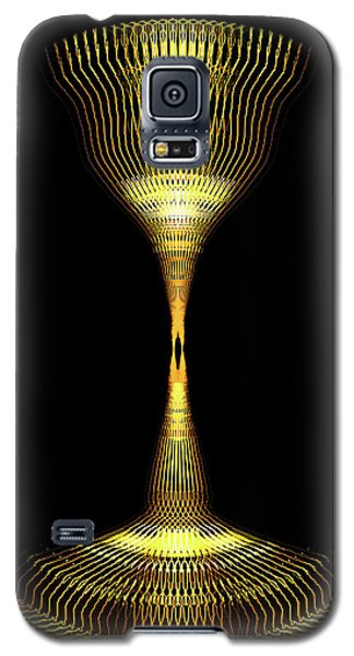 Glowing Brass Lamp Stand Galaxy S5 Case