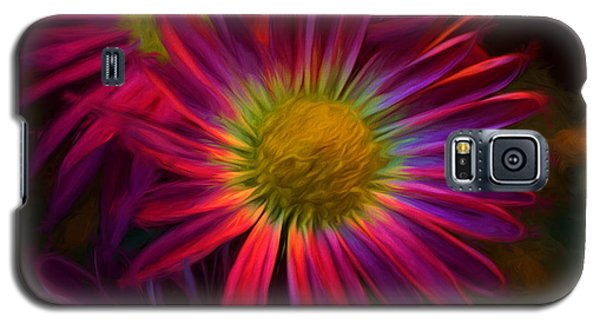 Glowing Eye Of Flower Galaxy S5 Case