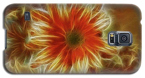 Glowing Flower Galaxy S5 Case