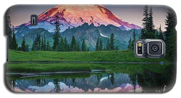 Glowing Peak - August Galaxy S5 Case by Inge Johnsson