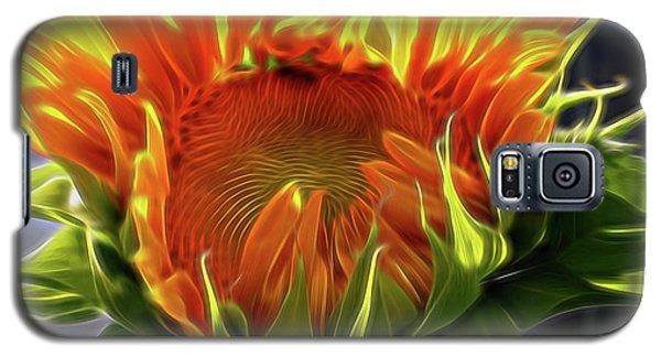 Glowing Sun Galaxy S5 Case