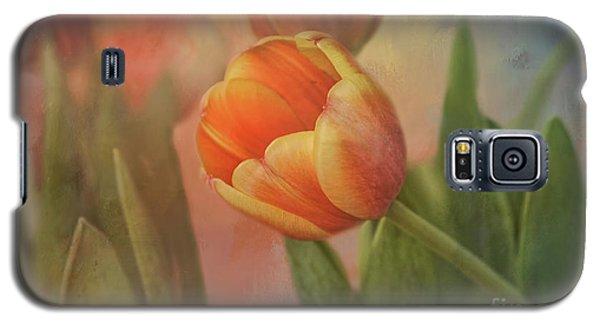 Glowing Tulip Galaxy S5 Case by Joan Bertucci