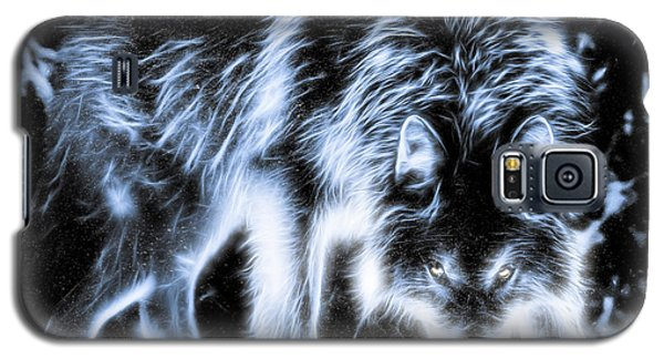 Glowing Wolf In The Gloom Galaxy S5 Case