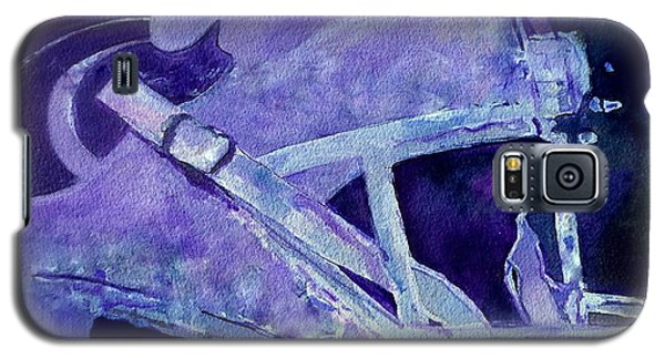 Galaxy S5 Case featuring the painting Go Cats by Jeffrey S Perrine