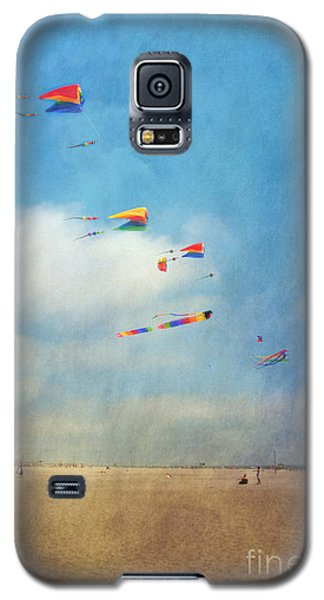 Galaxy S5 Case featuring the photograph Go Fly A Kite by David Zanzinger