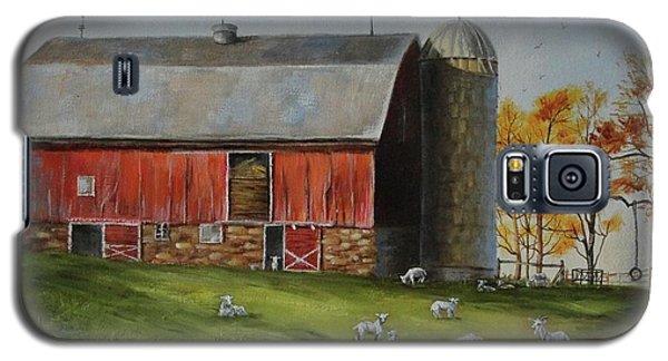 Goat Farm Galaxy S5 Case