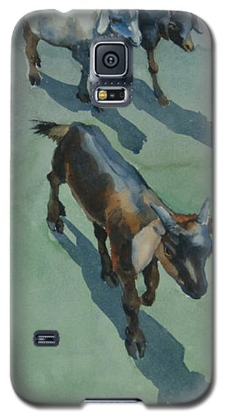Goat Galaxy S5 Case by Helal Uddin