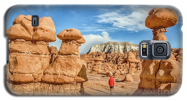 Goblin Valley State Park Galaxy S5 Case by JR Photography