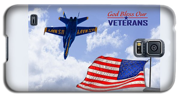 God Bless Our Veterans Galaxy S5 Case