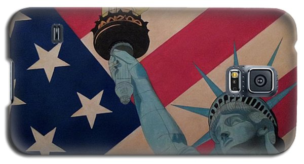 God Bless The Usa Galaxy S5 Case