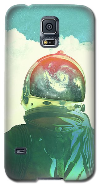 Surrealism Galaxy S5 Case - God Is An Astronaut by Fran Rodriguez