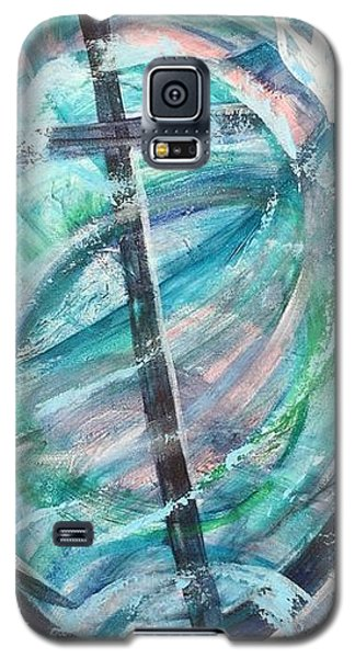 God Is My Anchor Galaxy S5 Case