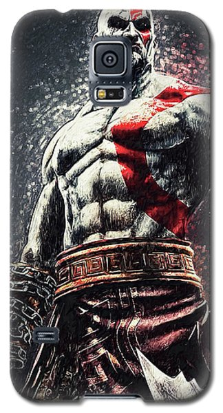 God Of War - Kratos Galaxy S5 Case by Taylan Apukovska