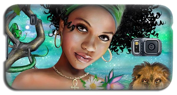 Goddess Bastet Galaxy S5 Case