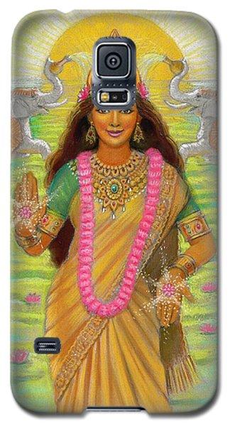 Goddess Lakshmi Galaxy S5 Case by Sue Halstenberg