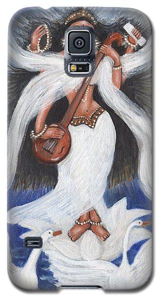 Goddess Of Arts Galaxy S5 Case by Saranya Haridasan
