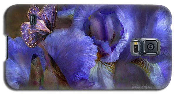 Goddess Of Mystery Galaxy S5 Case by Carol Cavalaris
