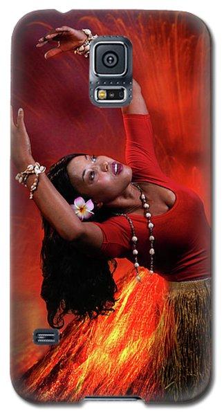 Goddess Pele Galaxy S5 Case