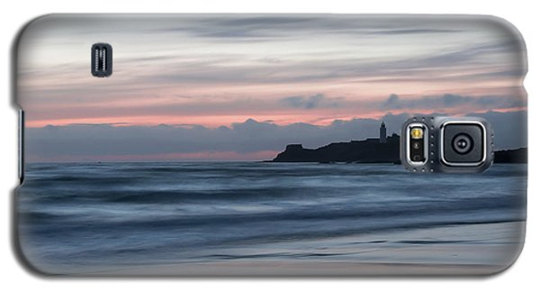 Godrevy Lighthouse From The Beach Galaxy S5 Case