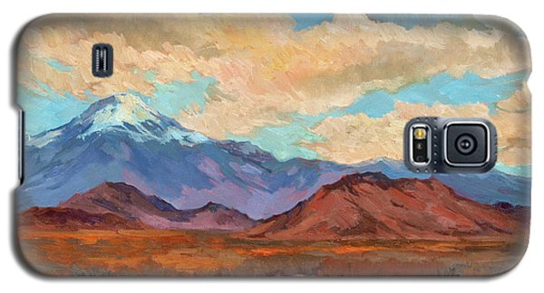 God's Creation Mt. San Gorgonio  Galaxy S5 Case by Diane McClary