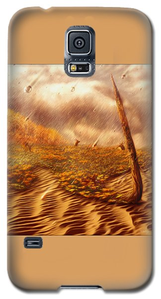 Gods Hand Painting With Life Galaxy S5 Case by Robby Donaghey