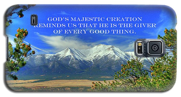 God's Majestic Creation Galaxy S5 Case