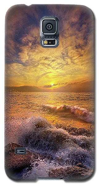 Galaxy S5 Case featuring the photograph Gods Natural Cure by Phil Koch