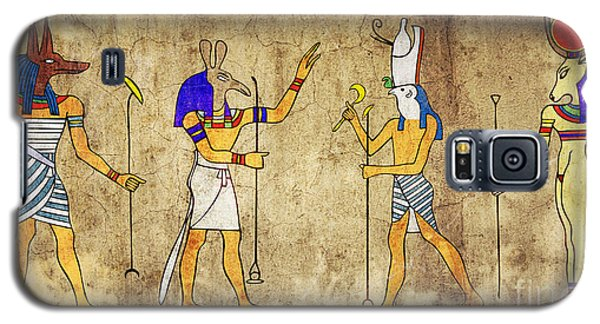 Gods Of Ancient Egypt Galaxy S5 Case by Michal Boubin
