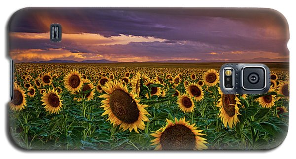 God's Painted Sky Galaxy S5 Case
