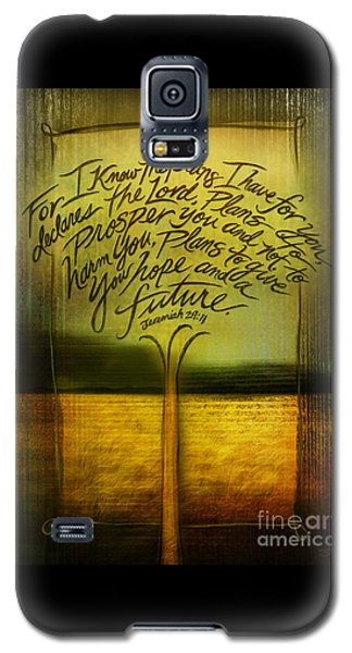 God's Plans Galaxy S5 Case