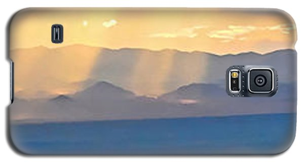 God's Rays Over The Great Basin  Galaxy S5 Case