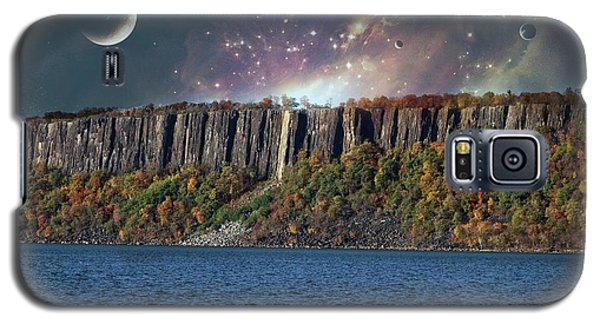 God's Space Over Planet Earth Galaxy S5 Case