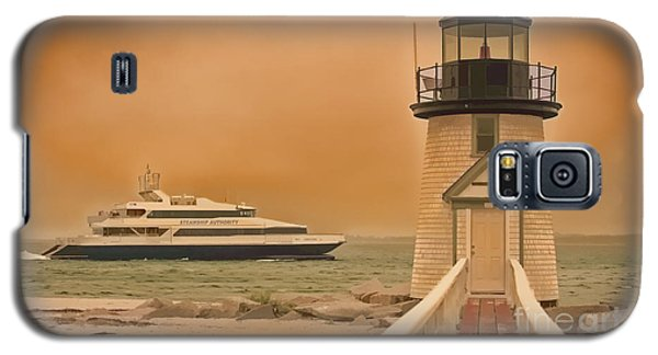 Godspeed At Brant Point Nantucket Island Galaxy S5 Case by Jack Torcello