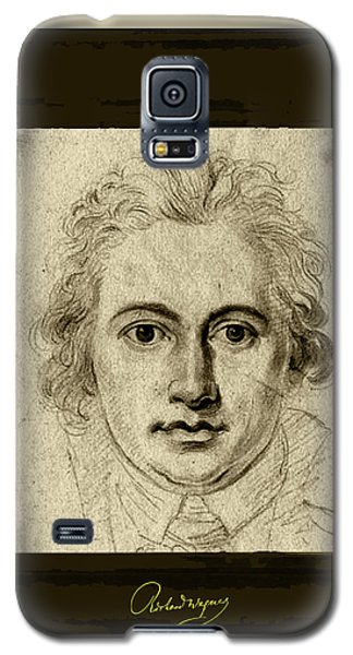 Goethe Galaxy S5 Case by Asok Mukhopadhyay