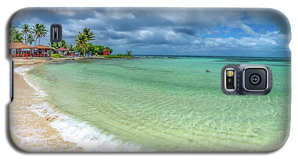 Goff's Caye Belize Pano Galaxy S5 Case