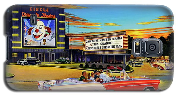 Goin' Steady - The Circle Drive-in Theatre Galaxy S5 Case