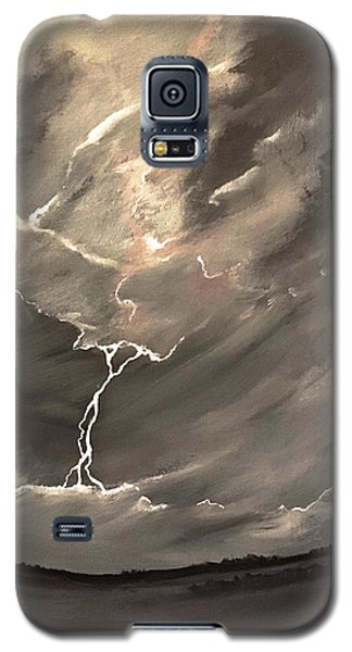 Going Down A Storm Galaxy S5 Case