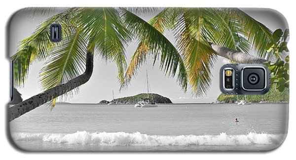 Galaxy S5 Case featuring the photograph Going Green To Save Paradise by Frozen in Time Fine Art Photography