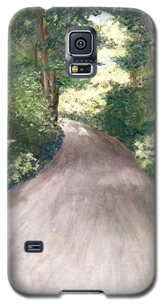 Galaxy S5 Case featuring the painting Going Home by Annamarie Sidella-Felts