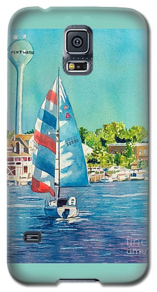Galaxy S5 Case featuring the painting Going Home by LeAnne Sowa