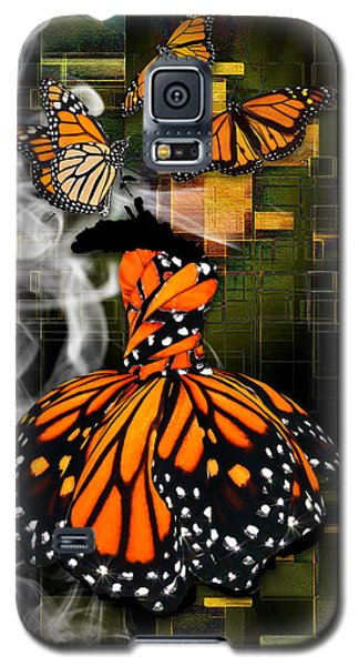 Galaxy S5 Case featuring the mixed media Going The Distance by Marvin Blaine
