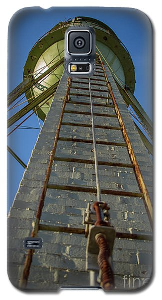 Galaxy S5 Case featuring the photograph Going Up Mary Leila Cotton Mill Water Tower Art by Reid Callaway